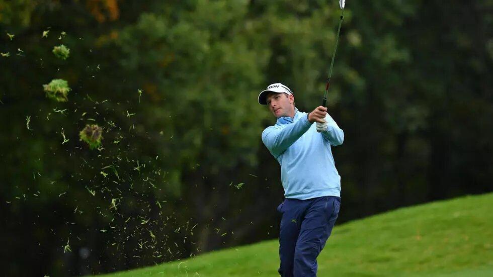 Victory… Dean Burmester won the Tenerife Open on Sunday.