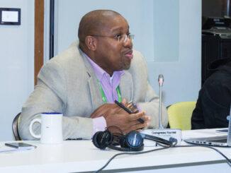 Land grab ... OSISA's executive director Siphosami Malunga says he has been targeted for his work promoting human rights