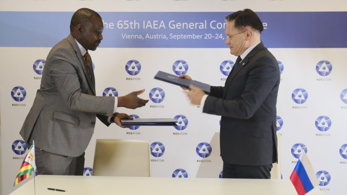 Energy-Minister-Zhemu-Soda-and-Rosatom-Director-General-Alexey-Likhachev-sign-MoU-in-Austria-Sept-20